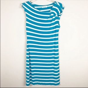 Calvin Klein striped summer dress size 6
